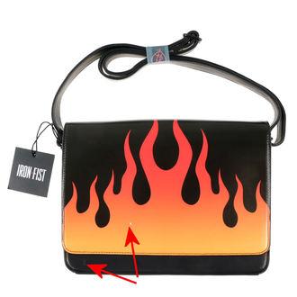 kézitáska IRON FIST - Fire Sign - Fekete - SÉRÜLT, IRON FIST