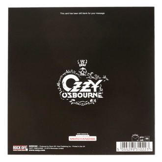 Üdvözlet Kártya Ozzy Osbourne - ROCK OFF, ROCK OFF, Ozzy Osbourne