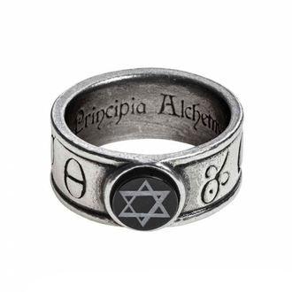 ALCHEMY GOTHIC Gyűrű - Principia Alchemystica, ALCHEMY GOTHIC