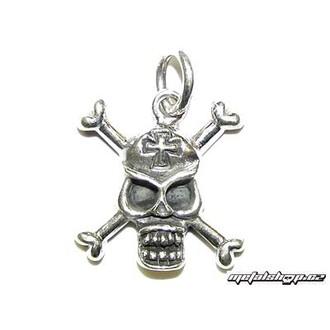 ezüst kulcstartó Koponya 6 (93)