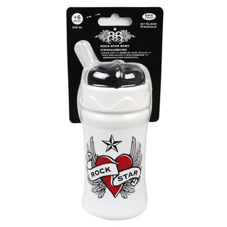 ROCK STAR BABY gyermek italos üveg (340ml) - Heart & Wings, ROCK STAR BABY