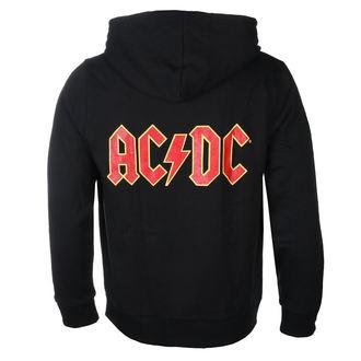 kapucnis pulóver férfi AC-DC - Logo - ROCK OFF, ROCK OFF, AC-DC