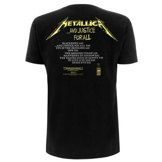 metál póló férfi Metallica - And Justice For All Tracks - NNM, NNM, Metallica