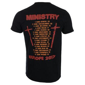 metál póló férfi Ministry - Hot Rod - ROCK OFF, ROCK OFF, Ministry