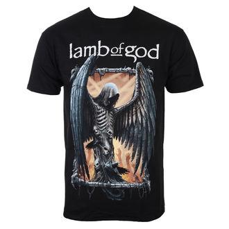 Lamb Of God Férfi póló - Winged Death - ROCK OFF, ROCK OFF, Lamb of God
