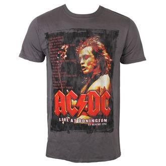 metál póló férfi AC-DC - Donington Set List - ROCK OFF, ROCK OFF, AC-DC