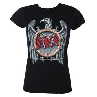 metál póló női Slayer - Silver Eagle - ROCK OFF, ROCK OFF, Slayer