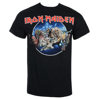 Iron Maiden Férfi póló - Wasted Years - Fekete - ROCK OFF, ROCK OFF, Iron Maiden