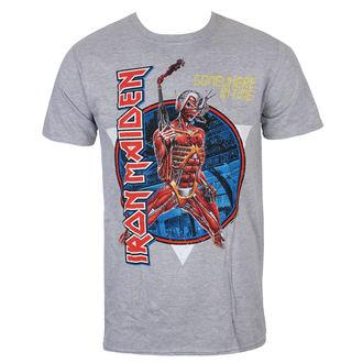 Iron Maiden Férfi póló - Somewhere In Time - szürke - ROCK OFF, ROCK OFF, Iron Maiden