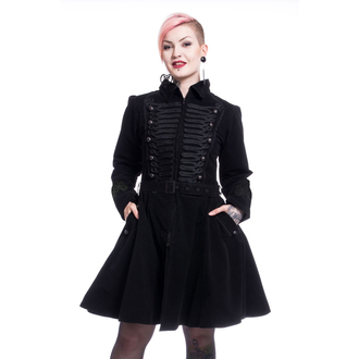Női kabát POIZEN INDUSTRIES - ROZALINA - BLACK, POIZEN INDUSTRIES