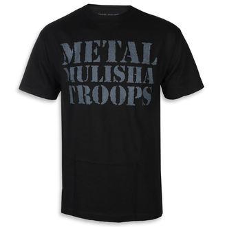 utcai póló férfi - OG TROOPS BLK - METAL MULISHA, METAL MULISHA