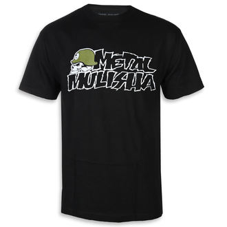 utcai póló férfi - IKON BLK - METAL MULISHA, METAL MULISHA
