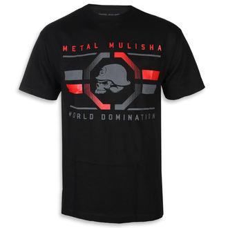 utcai póló férfi - OCTAGON BLK - METAL MULISHA, METAL MULISHA