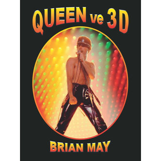 QUEEN 3D könyv - Brian May, NNM, Queen