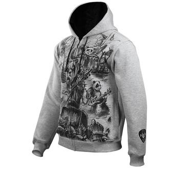 kapucnis pulóver férfi - Metal Pandas - ALISTAR, ALISTAR