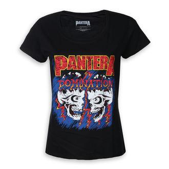 metál póló női Pantera - Domination - ROCK OFF, ROCK OFF, Pantera