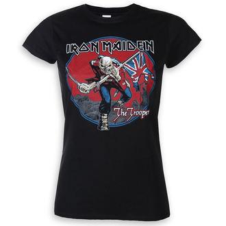 metál póló női Iron Maiden - Trooper Red Sky - ROCK OFF, ROCK OFF, Iron Maiden
