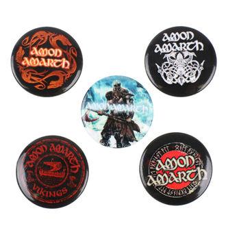 Amon Amarth kitűzők - RAZAMATAZ, RAZAMATAZ, Amon Amarth