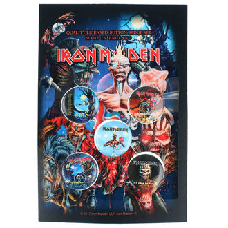 Iron Maiden kitűzők- RAZAMATAZ