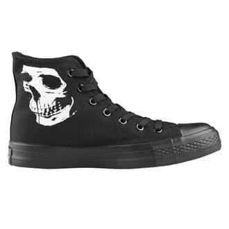 magasszárú cipő unisex - Skull 2 - AMENOMEN, AMENOMEN