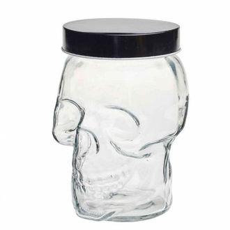 ALCHEMY GOTHIC Dekoráció (befőttes üveg)- Skull, ALCHEMY GOTHIC