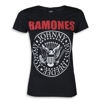 metál póló női Ramones - RED TEXT SEAL LOGO - PLASTIC HEAD, PLASTIC HEAD, Ramones