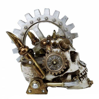 ALCHEMY GOTHIC Dekoráció  - Steamhead Skull, ALCHEMY GOTHIC