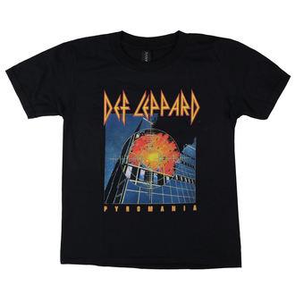 metál póló férfi Def Leppard - Pyromania - LOW FREQUENCY, LOW FREQUENCY, Def Leppard