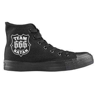 magasszárú cipő unisex - Team Satan - AMENOMEN, AMENOMEN