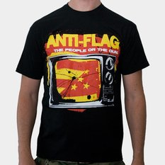metál póló férfi Anti-Flag - Black - KINGS ROAD, KINGS ROAD, Anti-Flag