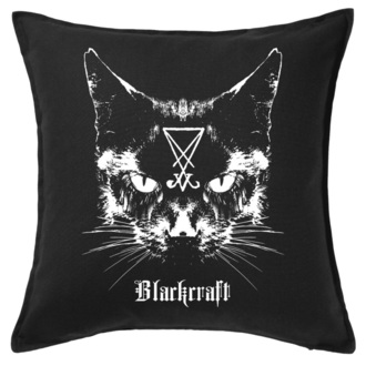 BLACK CRAFT párna- Lucifer The Cat Throw, BLACK CRAFT