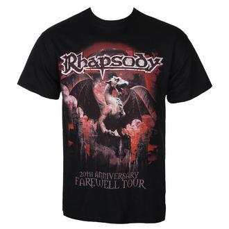 metál póló férfi Rhapsody - 20TH ANNIVERSARY - RAZAMATAZ, RAZAMATAZ, Rhapsody