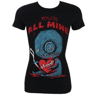 hardcore póló női - You're All Mine - Akumu Ink, Akumu Ink