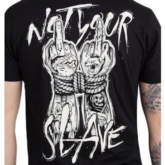 hardcore póló férfi - NOT YOUR SLAVE - HYRAW