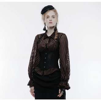 PUNK RAVE Női Fűző - Temptress black, PUNK RAVE