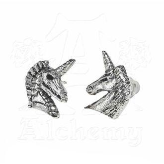 ALCHEMY GOTHIC Fülbevaló - Unicorn Ear Studs, ALCHEMY GOTHIC