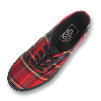 rövidszárú cipő unisex - UA Authentic (PLAID MIX) - VANS