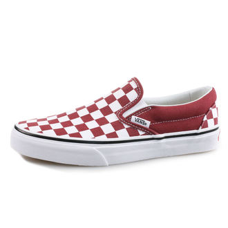 rövidszárú cipő női - UA CLASSIC SLIP-ON (CHECKERBOA) - VANS, VANS