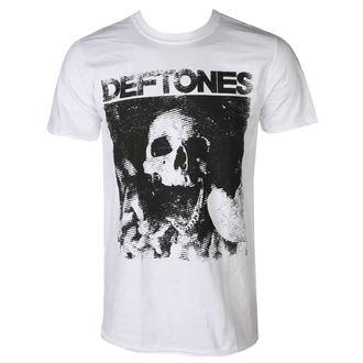 DEFTONES Férfi póló - SKULL - FEHÉR - PLASTIC HEAD, PLASTIC HEAD, Deftones