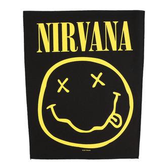 Nirvana Nagy méretű tapasz - Smiley - RAZAMATAZ, RAZAMATAZ, Nirvana