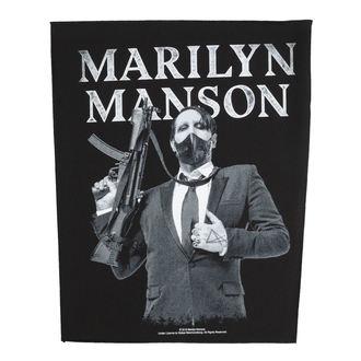 Marilyn Manson Nagy méretű tapasz - Machine Gun - RAZAMATAZ - BP1099