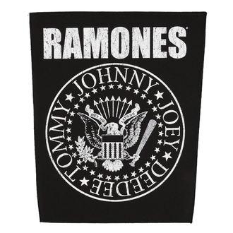 RAMONES nagy felvarró  - CLASSIC SEAL - RAZAMATAZ, RAZAMATAZ, Ramones