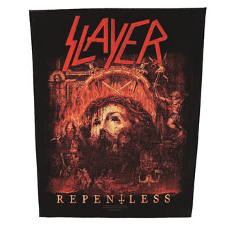 SLAYER nagy felvarró - RE PENTLESS - RAZAMATAZ, RAZAMATAZ, Slayer
