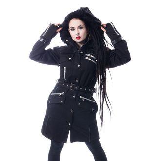 Chemical Black Női kabát - VERSE - FEKETE, CHEMICAL BLACK