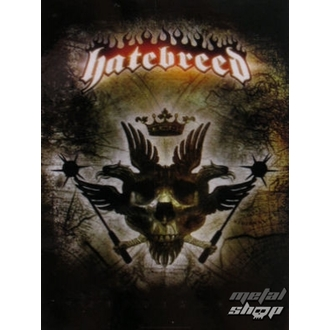 zászló Hatebreed - Eagle, HEART ROCK, Hatebreed