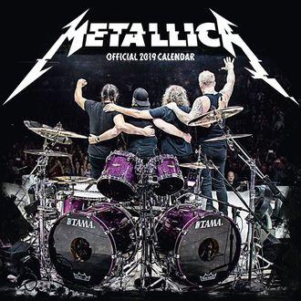 2019 Naptár - METALLICA, Metallica