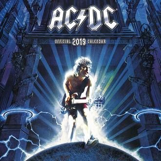 2019 Naptár  AC  /  DC , NNM, AC-DC