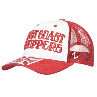 Sapka WEST COAST CHOPPERS - CLUTCH LOGO ROUND BILL - Piros, West Coast Choppers