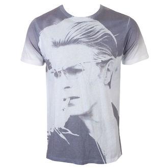 David Bowie Férfi póló - Wild Profile - fehér - ROCK OFF, ROCK OFF, David Bowie