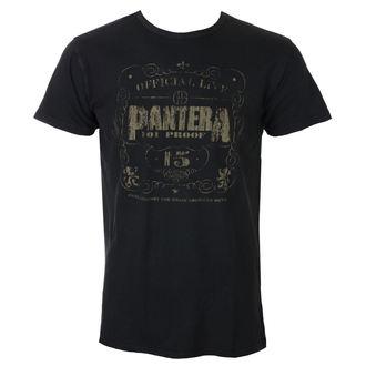 metál póló férfi Pantera - 101% Proof Vintage - ROCK OFF, ROCK OFF, Pantera